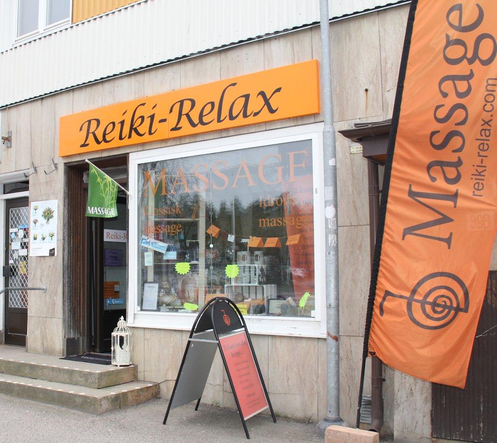 Reiki-Relax behandlingslokal Massage & Reiki i Katrineholm