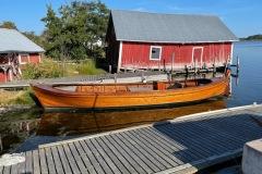 Otroligt vacker båt!