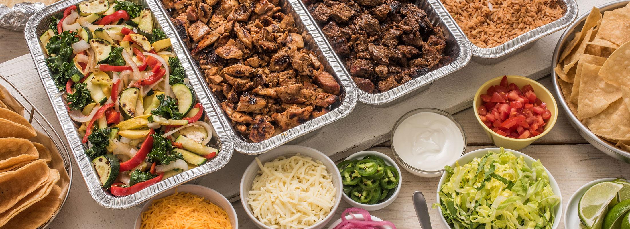 Wij verzorgen graag uw catering buffet.