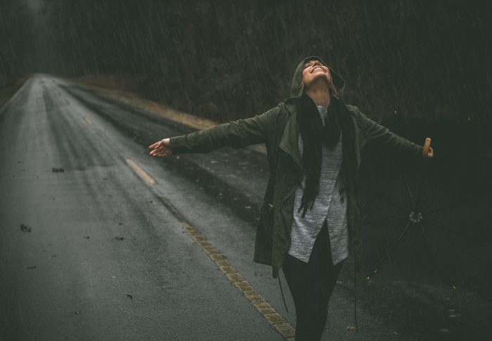 I'm only happy when it rains … I'm only happy when it's complicated