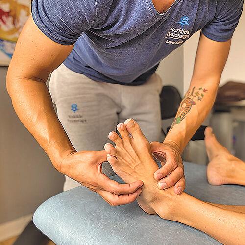 Behandling af fødder