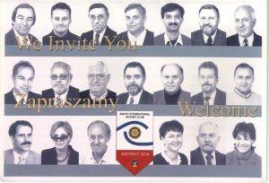 Birthday Sopot International Rotary Club 1.October 2002