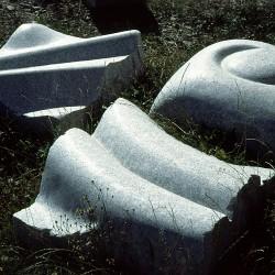 410: White stones 05