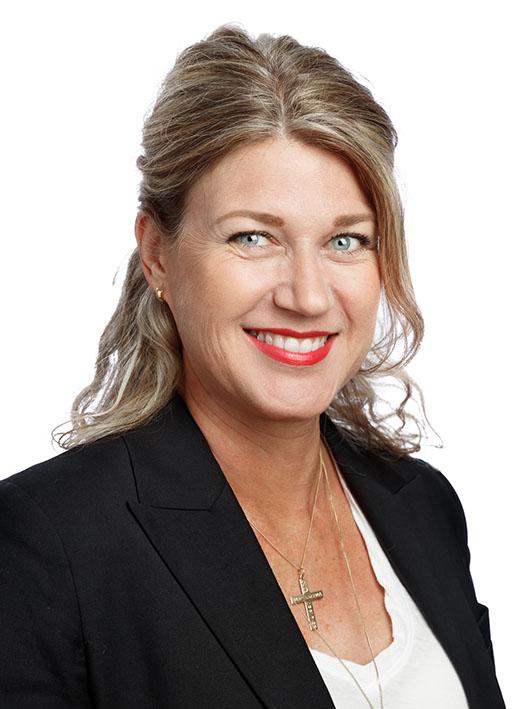 porträtt på SACDs President Ulrika Nibble