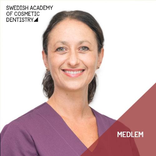 Tandläkare Angela Hasson, Stockholm