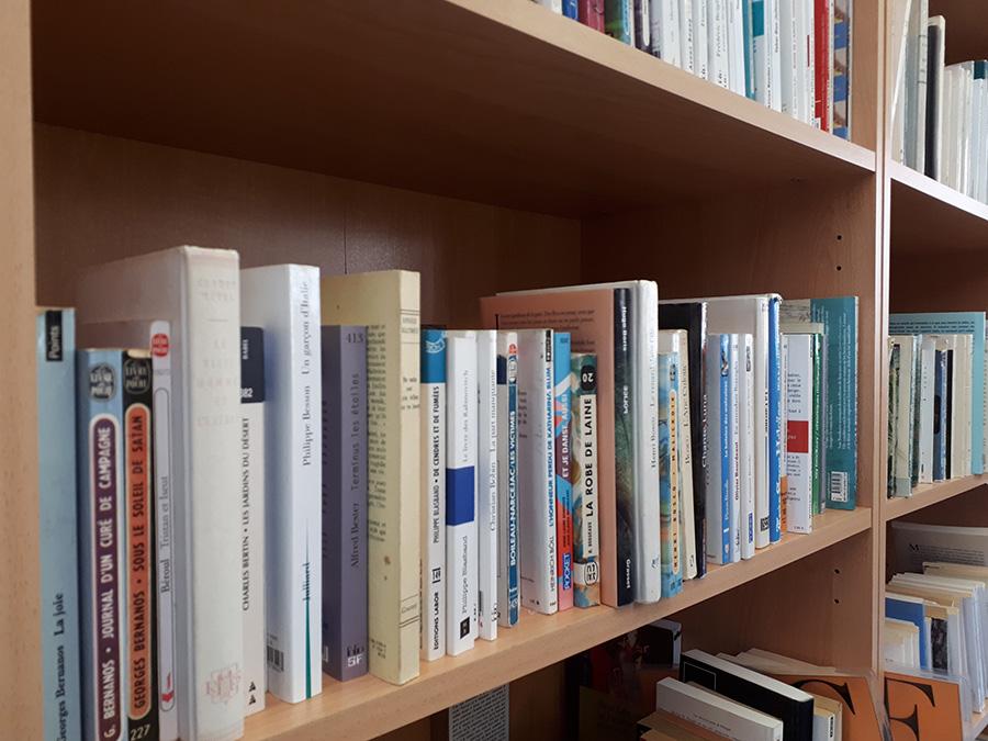 bibliothèque Sainte-Claire Verviers