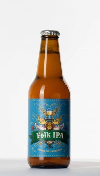 folk ipa flaska, beer bottle