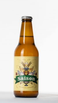 saison flaska, beer bottle