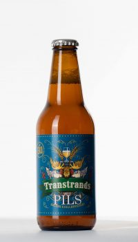 transtrands pils flaska, beer bottle