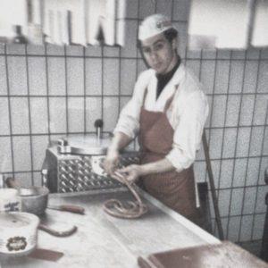 giuseppe roberti salsicciamo sausages italian sausage salsiccia london meat production pork suino sicilian tuscan calabrian classic fresh food banger traditional luganega lucanica uk made food fresh polpette meatballs mince pizza ingredients lovers uk manufacturing made in britain toscana siciliana calabrese sale e pepe
