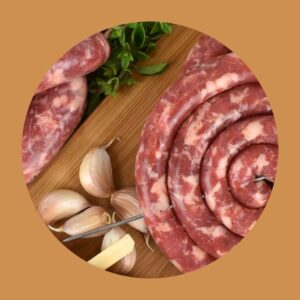 easy meal kit giuseppe roberti salsicciamo sausages italian sausage salsiccia london meat production pork suino sicilian tuscan calabrian classic fresh food banger traditional luganega lucanica uk made food fresh polpette meatballs mince pizza ingredients lovers uk manufacturing made in britain toscana siciliana calabrese sale e pepe