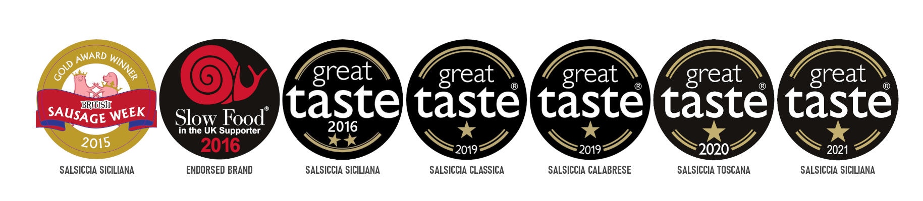 We're delighted to announce that the @guildoffinefood has awarded our Luganega Salsiccia Siciliana, one star ⭐️ respectively at the #GreatTasteAwards 2021. . . . #2021goals #awardwinning #foodawards #foodieuk #foodlove #freshsausage #guildoffinefood #greattasteawards2021 #GreatTaste #guildoffinefood #italiansausage #manufacturer #pickoftheday #products #producer #salsicciamo #sausagelovers #sausages #siciliana #siciliansausage #ukproduce
