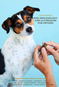 Book about dog reflexology and acupressure