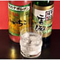 Shochu rocks