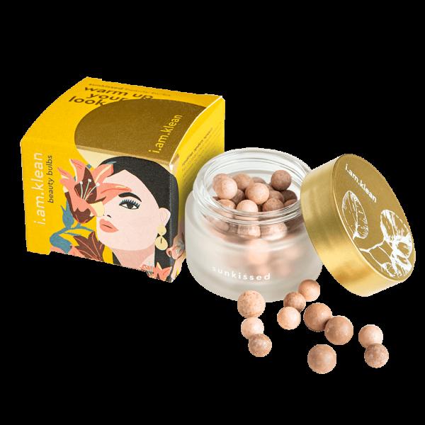 beauty bulbs sunkissed open met verpakking Golden Hour (websize transparante achtergrond)