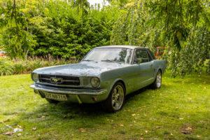 Ford mustang Gavnø Classic Autojumble