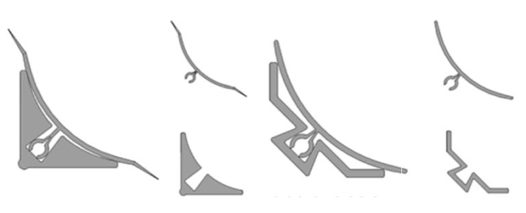 Hjørne profiler (L-profiler)