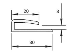U-profil-30 (CS-30)