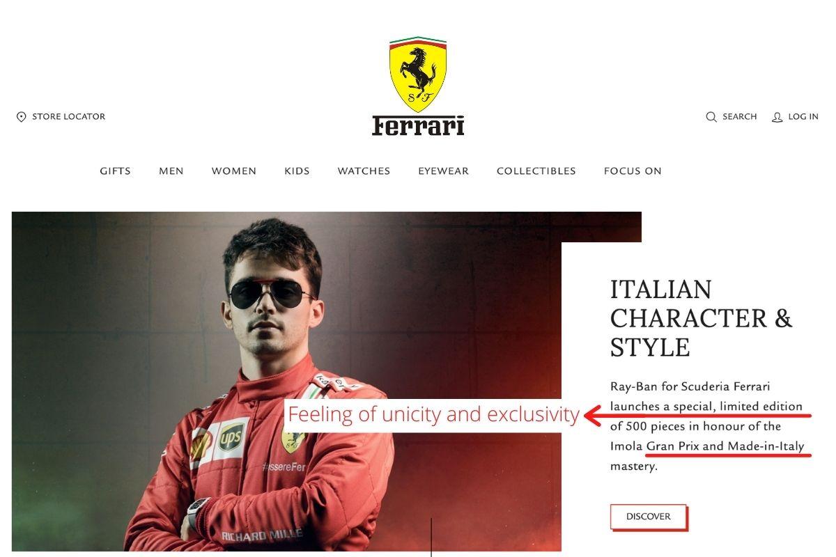 Ferrari-selling-strategy