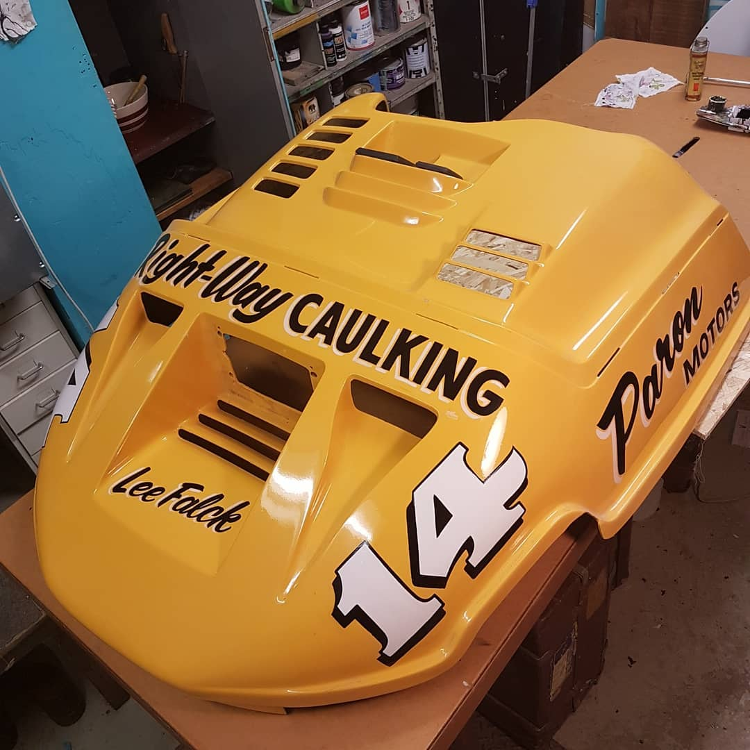 Clone of Minnesota snowmobile racing legend Lee Falck's skidoo lettering ! made Custom for Robert Olsson of Sweden. Swipe right to see one of the reference photos. more to come on this story soon ttering