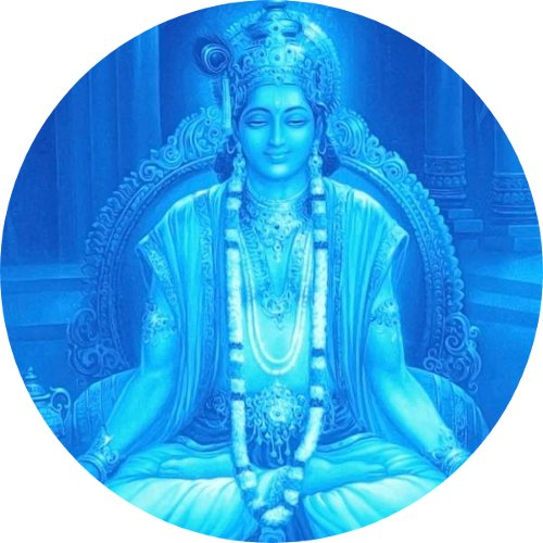Krishna-Blue-Being
