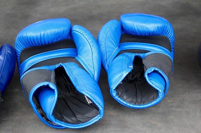 Velkro boksehandsker