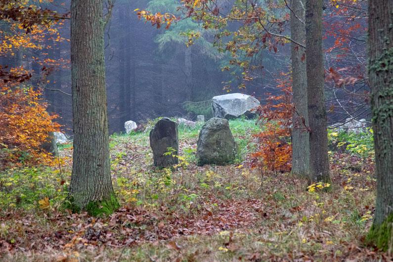 Stencirklen i Hestehaveskoven