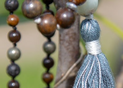Amazonit mala meditationskæde