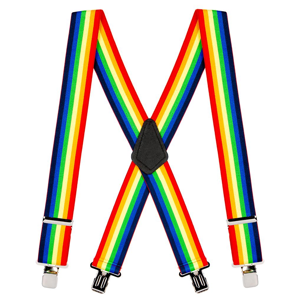Rainbow Suspender Braces-35mm