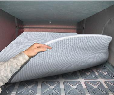 Dachbettsystem VWT5/T6 Alu inkl.Dachbettmatratze eintlg.1900x110x30mm
