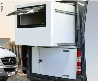Wall Slide Out System f�r Mercedes Sprinter, ohne W�nde