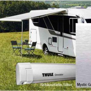 Thule Markise Omnistor 5200  4,5m Mystic Grau Geh�use Silber