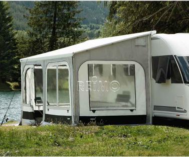Safari Panorama L 350cm Schwarz/Silber, H�he 245-259cm f�r O5200