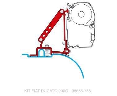 FIAMMA Adapter f�r F45i/F45iL Duc.ab 06