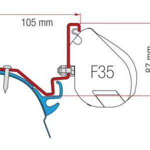 Adapter f�r F35, VW T6 LR Westfalia Kepler