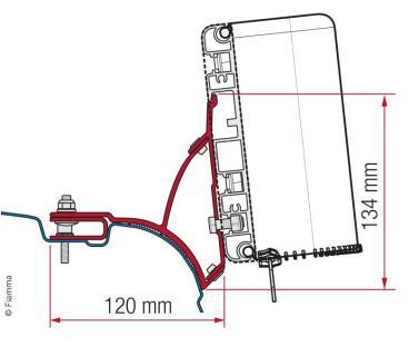 Adapter Kit Compass f�r VW Transporter/Multivan ab 2003