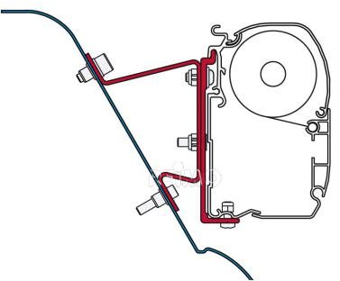 Adapter Sprinter H3-Westfalia/Crafter