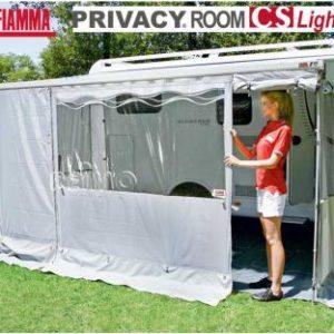 PRIVACY ROOM CS Light f. Carav. Store 440cm grau Fast Clip