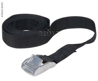 Spanngurt - 60 cm, Verschlussgurt f�r Schlafd�cher schwarz