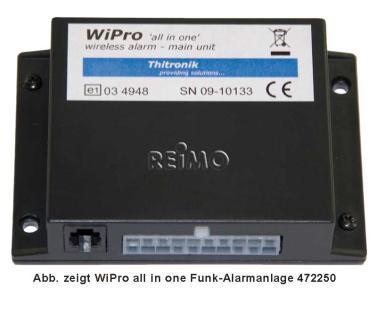 WiPro Einb.-Set Ford Transit ab 06 u.baugl.
