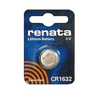 Ersatzbatterie Typ CR1632 f�r Sensor