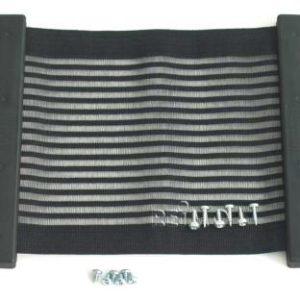 Kiiper-Ablagenetz Gr.M, schwarz-liniert, 270x250mm