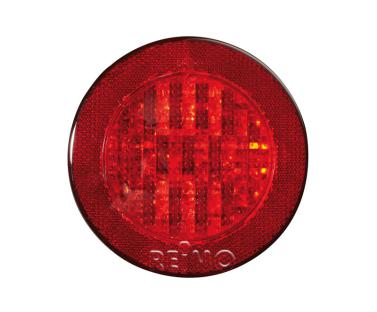 LED-Nebelleuchte mit R�ckstrahler 12V, 4W rot IP67 500 mm Kabel