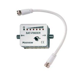 SAT-Finder mit 3 Leuchtdioden-Anzeige