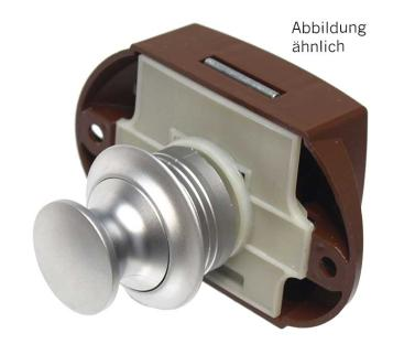 Push Lock beidseitige Bet�tigung silber  50er Pack