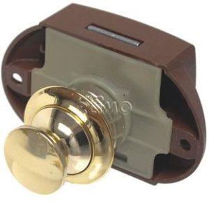 Push Lock - M�belschloss gold 50er Pack