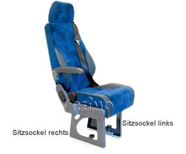 Sitzsockel f�r Eurositz 28 cm, rechts