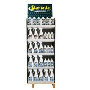 Display STARBRITE best�ckt (219 Flaschen)
