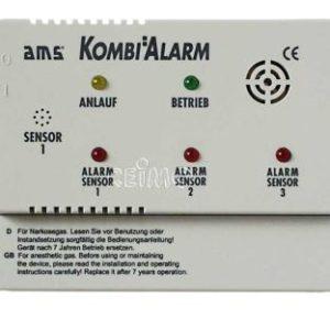 Gaswarnger�t AMS-Kombialarm 12V