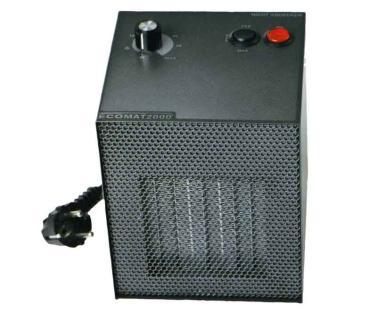 Elektro Heizl�fter 230V 450/750/1500W 2/4/6A Ecomat 2000 Classic